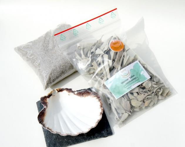 Räucherset | Jacobsmuschel