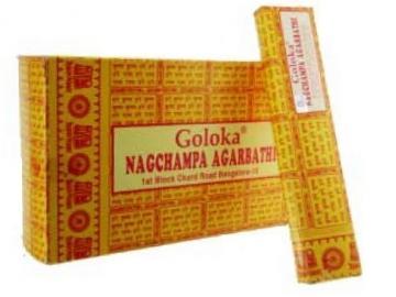 Goloka Nag Champa Räucherstäbchen 16g