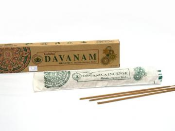 Davanam Beifuß Goloka Bio Räucherstäbchen