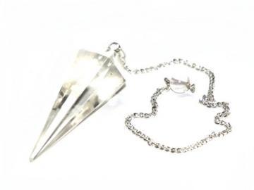 Pendel aus Bergkristall | Esoterik