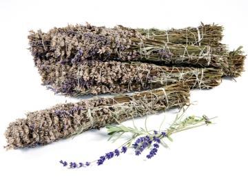 heimischer Lavendel bio Räucherbündel