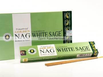 Nag California White Sage Masala-Räucherstäbchen | Vijayshree
