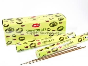Sweetgras Räucherstäbchen HEM