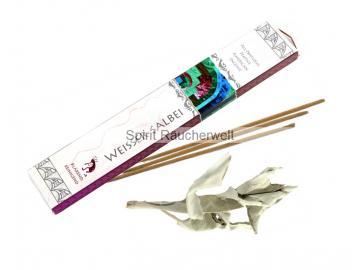 Weißer Salbei - indianische Räucherstäbchen
