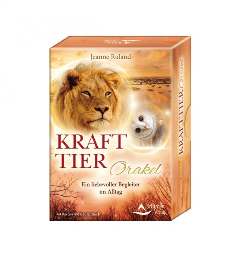 Krafttier Orakel - Kartenset | Jeanne Ruhland