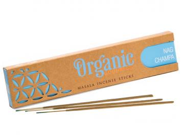 Nag Champa Organic incense - Räucherstäbchen Song of India