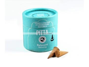 Pitta Ayurvedische Räucherkegel - Entspannend