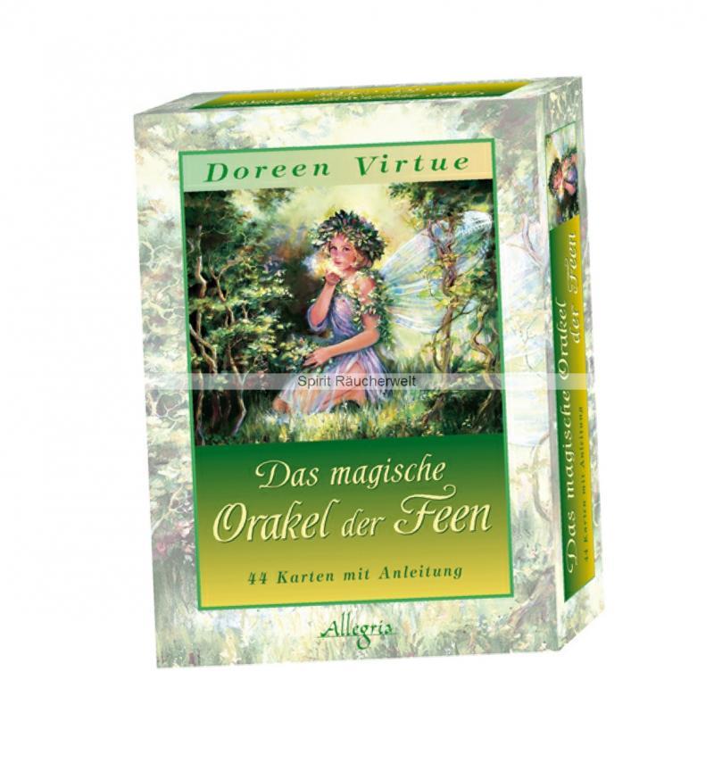 Das magische Orakel der Feen   Orakel Kartenset von Doreen Virtue