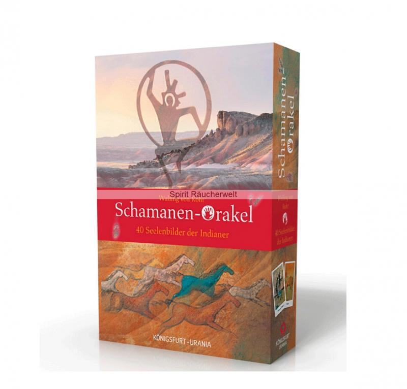 Schamanen Orakel - Kartenset   Wulfing von Rohr