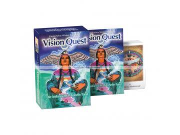 Vision Quest - Der indianische Weisheits Tarot | Gayan Silvie Winter, Jo Dose