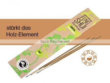 Holz - Sandelholz | Feng Shui Räucherstäbchen von Aromandise