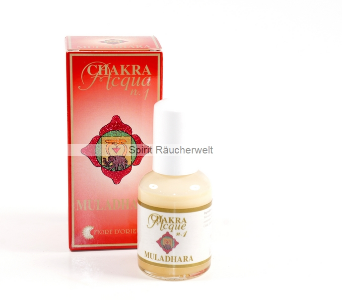 1. Chakra - Wurzel Chakra - Aura Spray von Fiore D Oriente - 100% natürliche Zutaten
