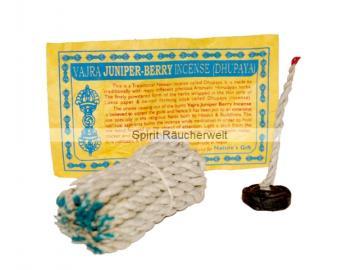 Wacholderbeere - Juniper Berry - tibetische Räucherschnüre - fairer Handel