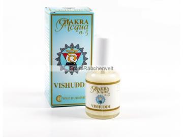 5. Chakra - Halschakra - Aura Spray von Fiore D Oriente - 100% natürliche Zutaten