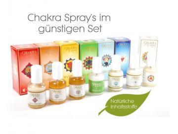 Chakra Spray Set | 7x 50ml | Aura Spray von Fiore D Oriente - 100% natürliche Zutaten