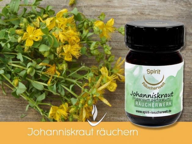 Johanniskraut bio - heimisches Räucherwerk
