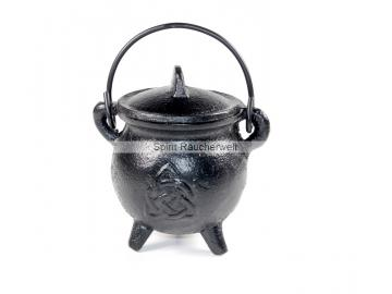 Räucherkessel - Hexenkessel - Caldron keltischer Knoten   Räuchergefäß - Ritualbedarf