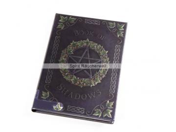 Buch der Schatten - mit Pentagramm | Notizbuch - Schattenbuch selber machen