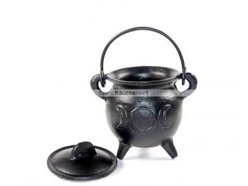 Räucherkessel - Hexenkessel - Caldron -  Triple Moon   Räuchergefäß - Ritualbedarf