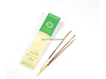 Lemongrass - Farfalla Natural Faircense Räucherstäbchen - naturrein und nachhaltig