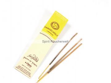 Sandelholz - Farfalla Natural Faircense Räucherstäbchen - naturrein und nachhaltig
