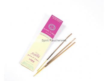 Ylang Ylang - Farfalla Natural Faircense Räucherstäbchen - naturrein und nachhaltig