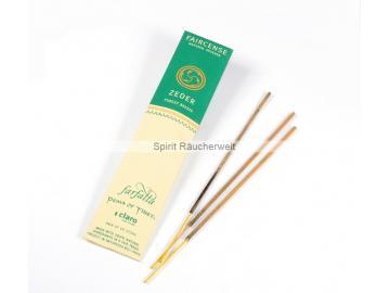 Zeder - Farfalla Natural Faircense Räucherstäbchen - naturrein und nachhaltig