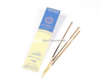 Lavendel - Farfalla Natural Faircense Räucherstäbchen - naturrein und nachhaltig