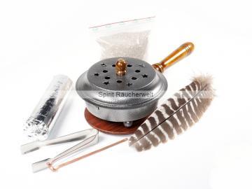 Anfänger Weihrauch-Räucherset Gordon silber - für Hausreinigung