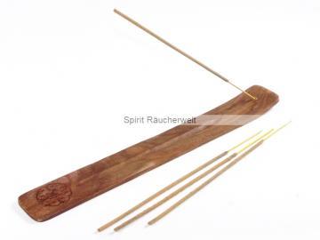Räucherstäbchenhalter keltischer Knoten aus Holz