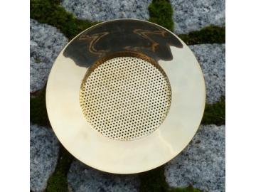 Messingsieb poliert 11,2cm