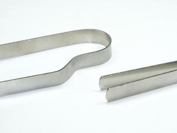 Räucherzange - Kohlenzange Edelstahl