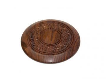 Untersetzer Holz rund