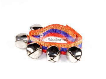 Schellenband - 1 Paar mit je 5 Schellen