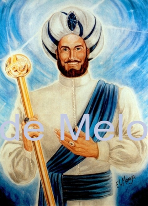 El Morya | spirituelle Postkarte