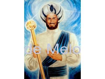 El Morya   spirituelle Postkarte