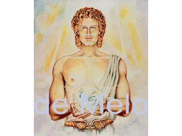 Erzengel Gabriel   spirituelle Postkarte