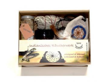 Indianisches Räucherwerk Geschenke-Set