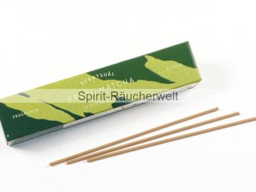 Fresh Matcha | Scentsual  - natürliche japanische Räucherstäbchen | Nippon Kodo
