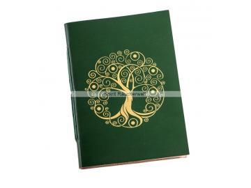 Buch der Schatten - mit Baum des Lebens | Notizbuch - Schattenbuch selber machen
