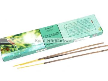 Cucumber Aromatherapie Räucherstäbchen Goloka