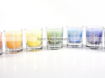 Erzengel Kerzen Set - Engelkerze  Votiv Kerze - Duftkerze  im Glas