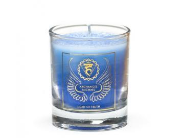 Erzengel Michael - Engelkerze  Votiv Kerze - Duftkerze  im Glas