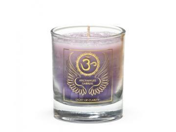 Erzengel Gabriel - Engelkerze  Votiv Kerze - Duftkerze  im Glas