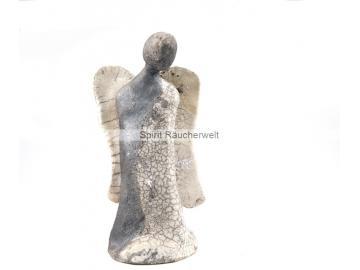 Exklusiver Engel aus Raku-Keramik   Kunsthandwerk