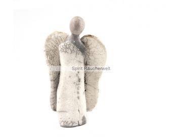 Exklusiver Engel aus Raku-Keramik | Kunsthandwerk
