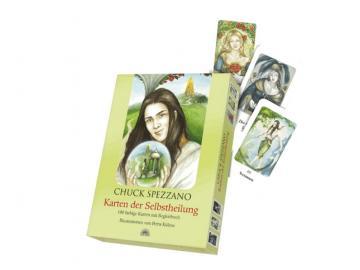 Karten der Selbstheilung   Kartenset - 100 farbige Karten mit Begleitbuch   Chuck Spezzano