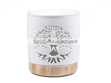 Keramik Duftlampe Baum des Lebens