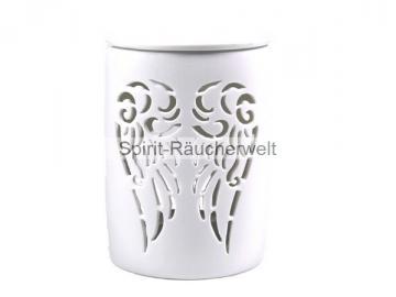 Keramik Duftlampe Engelsflügel