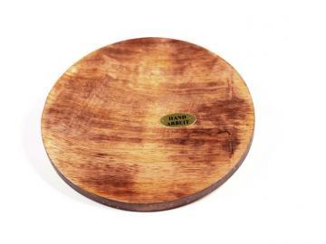 Mangoholz Untersetzer rund